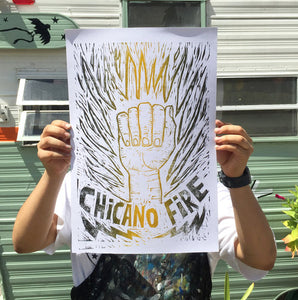 Chicano Fire Poster