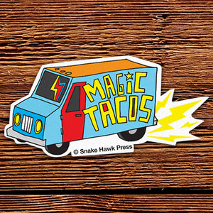 Magic Tacos Sticker