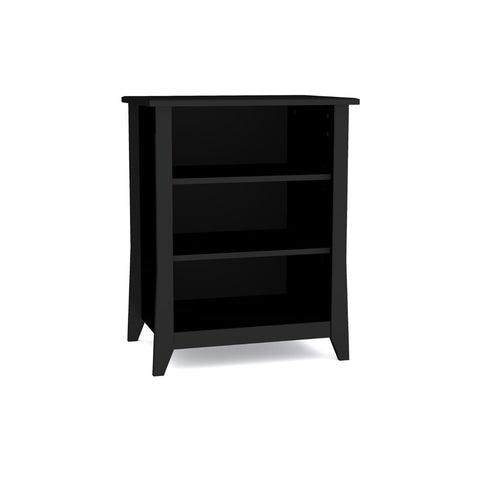 Tuxedo Audio Tower, 2 shelves, Black (3184263823424)