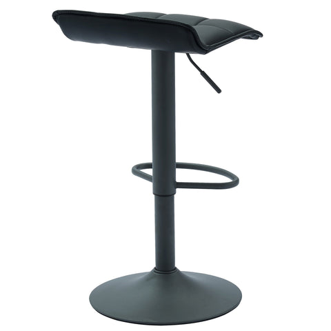 Comet Air Lift Stool, Set Of 2 Black