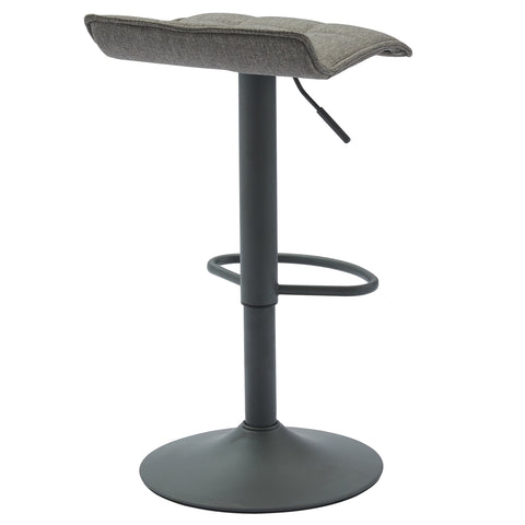 Pluto Air Lift Stool, Set Of 2 Grey (4411115569204)