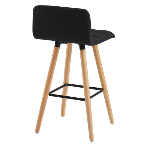 Rico 26'' Counter Stool, Set Of 2 Black