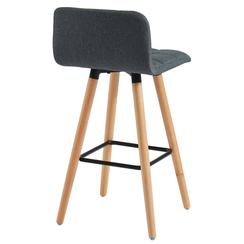 Rico 26'' Counter Stool, Set Of 2 Charcoal