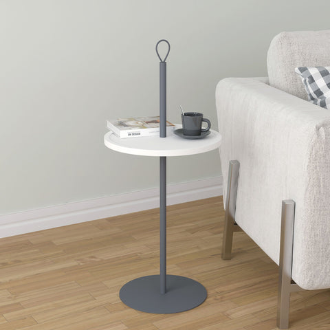Felix Accent Table White/Grey