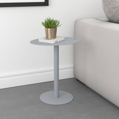 Enzo Accent Table Grey
