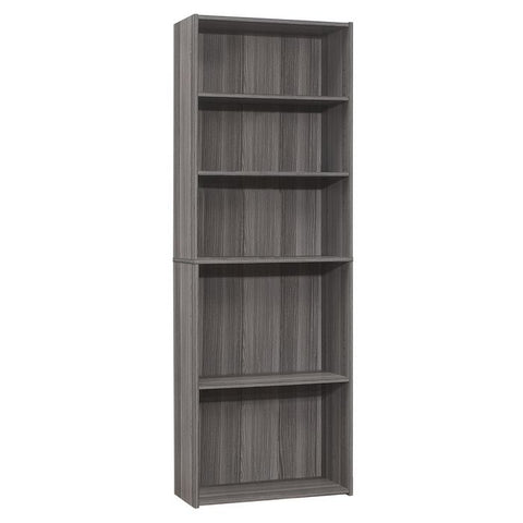 "Roseanna Bookcase - 36""H / White With 3 Shelves (4396745850932)"