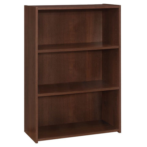 "Gregoria Bookcase - 36""H / Cherry With 3 Shelves (4396744900660)"