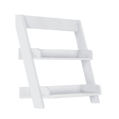 "Adena Bathroom Accent - 24""H / White Wall Mount Shelf"