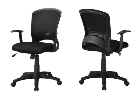 Keeley Office Chair - Black Mesh Mid-Back / Multi-Position (4401121820724)