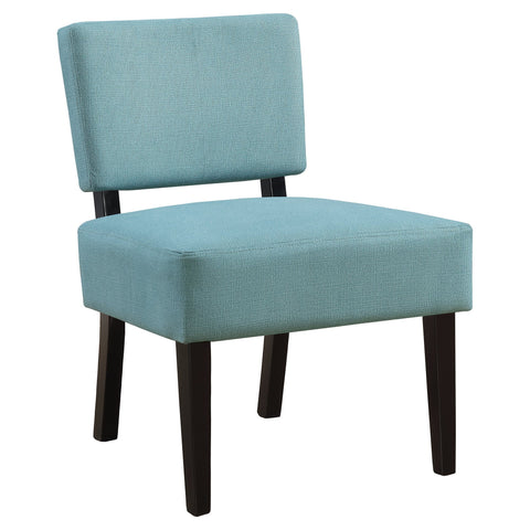 Aleen Accent Chair - Teal Fabric (4391766458420)