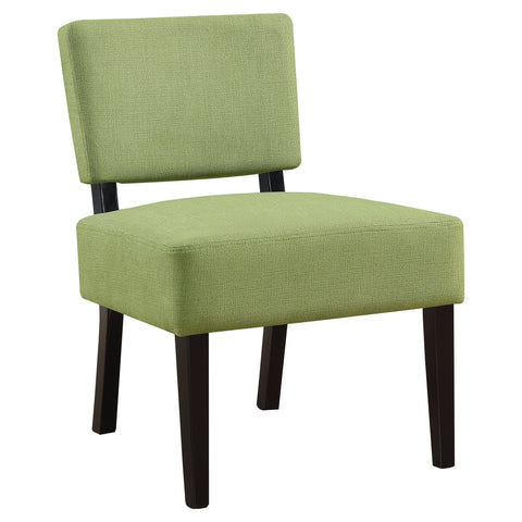 Christinia Accent Chair - Lime Green Fabric (4391766556724)