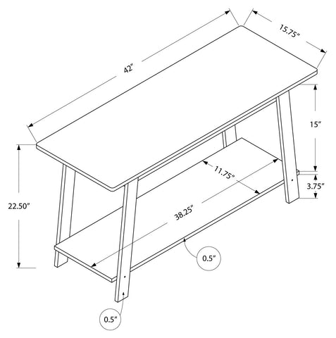 "Marg Tv Stand - 42""L / Cappuccino"
