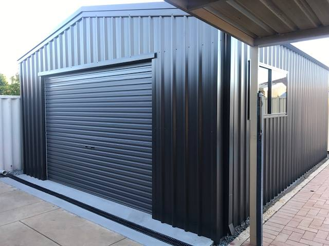 2200mm high x 2400mm wide Roller Door