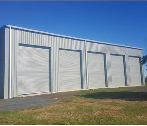 Industrial Roller Door 2400mm high, variable Widths, (Free Shipping NI)