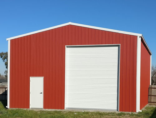 2400mm high x 4800mm wide Semi-Industrial Roller Door