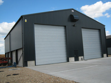 6000mm high x 6000mm wide Roller Shutter Door