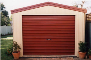 2500mm High Garador Domestic Roller Door - Flexible widths and colours