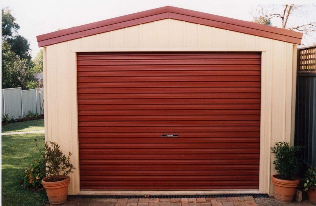 2400mm high Garador Domestic Roller Door - Flexible widths, from $949 - (Delivered NI)