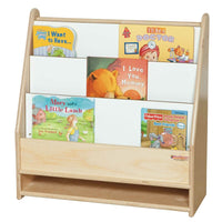 3 Compartment Montessori Book Display