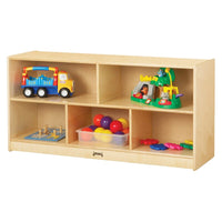 5 Cube Montessori Cabinet with Casters