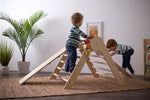 Wooden Pikler Climbing Triangle
