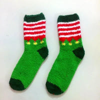 Christmas Fuzzy Socks
