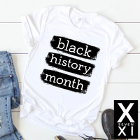 Black History Month Graphic Tee