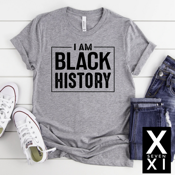 I AM BLACK HISTORY Graphic Tee