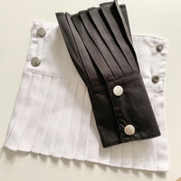 Pleated Cuffs