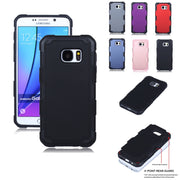 2in1 Shockproof Extra Slim Dual Layered Heavy Duty Hard Protection Hybrid Durable Case For Samsung Galaxy Note 5