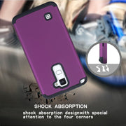 3 Layers Shockproof PC+silicone Tough Hybrid Armor Drop Fullbody Protection Case Cover For LG K520 /Stylus 2/ G Stylo 2/LS775