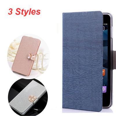 (3 Style) Honor 7A Pro Leather Case On For Fundas Huawei Honor 7A Pro Prime Case For Huawei Y6 2018 Wallet Flip Magnetic Case