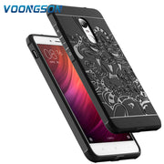 32gb For Xiaomi Redmi Note 4 Case Silicon Back Cover 3D Carved Dragon Black TPU Phone Coque Redmi Note 4X 64gb Fundas Anti-knock