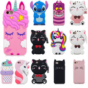 3D Cartoon Pink Unicorn Beard Cat Phone Silicone Soft Case Cover For LG K8 2017 X300 M200N Aristo LV3 MS210 Cases Gel Shell
