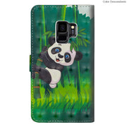3D Cat Tree Case For Samsung Galaxy S9 Plus S9Plus S9+ G965F G965F/DS Case For Samsung S9 Capa G960 G960F Housing Phone Leather