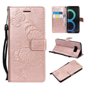 3D Emboss Butterfly Flip Leather Wallet Book Case Card Holder Cover For Samsung Galaxy S7 Edge S9 S8 Plus Note 8 A6 A8 Plus 2018