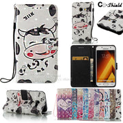 3D Painting Case For Samsung Galaxy A3 A 3 2017 A37 SM-A320Y SM-A320F SM-A320Y/DS SM-A320FL SM-A320F/DS Phone Leather Case