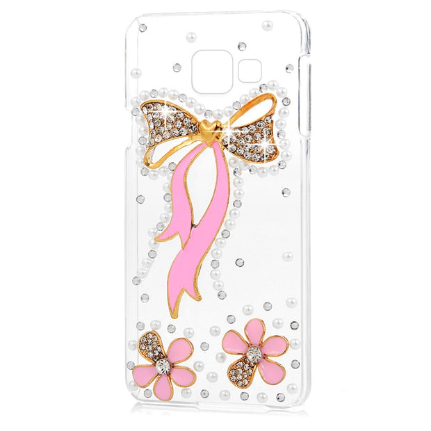 3D Rhinestone Case For Samsung Galaxy A3 (2016) Luxury Glitter Bling Crystal Diamond Protective Shell Cover For Samsung A3100