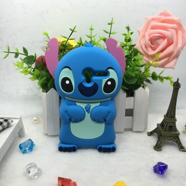 3d Silicone Cartoon Case For Alcatel One Touch Pixi 3 OT-4013D 4013 4050 4050X COVER Phone Case SKIN Back Cover 4.0 Inch CAPA