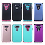 3in1 Hybrid Heavy Duty Protection Silicone Shock Absorber Protective Hard Case Cover For LG V20