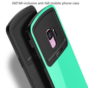 !ACCEZZ Color Silicone Frosted Matte Protection Case For Samsung Galaxy S9 Plus Full Coverage Phone Cases Back Cover Funda Shell
