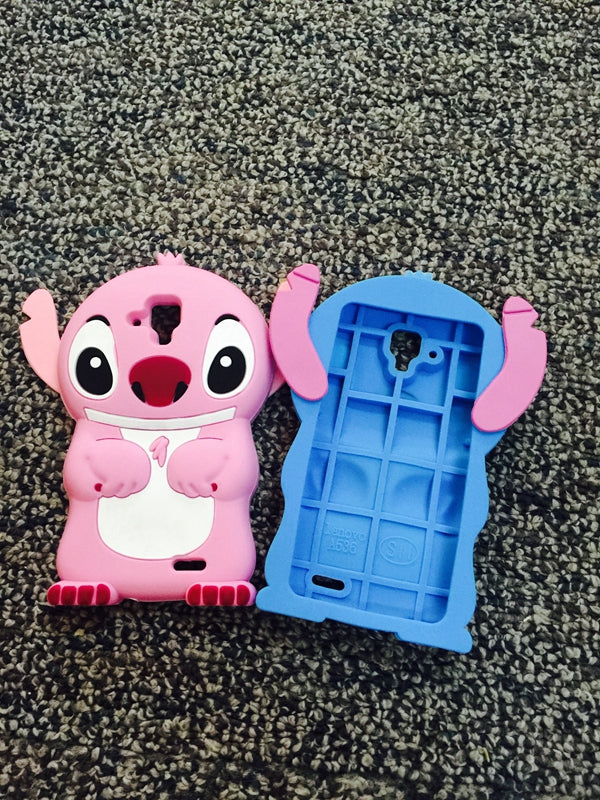 AIPUWEI 3D Cartoon Soft Phone Back Skin Cover Case For Lenovo A536 CASES BACK SHELL HOUSING FOR Lenovo A 536 COVERS CUP STITCH
