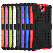 "AIPUWEI Armor Kickstand Phone Case Cover For HTC One E9 E9+ E9 PLUS 5.5"" Case Silicone Plastic Hard CASE For HTC E9 Plus Cover"