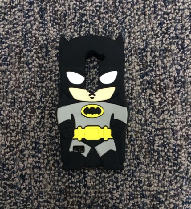 AIPUWEI Cute 3D Cartoon Soft Silicone Back Cover Case For LG Leon 4G LTE C40 C50 H324 H340N H320 BAG SKIN SHELL Coque FASHION