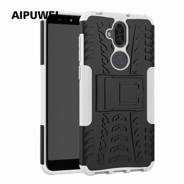 AIPUWEI For Asus Zenfone 5 Lite ZC600KL Cover Case Hard HEAVY DUTY Luxury Cases For Asus Zenfone 5 Lite ZC600KL Phone Shell Bags