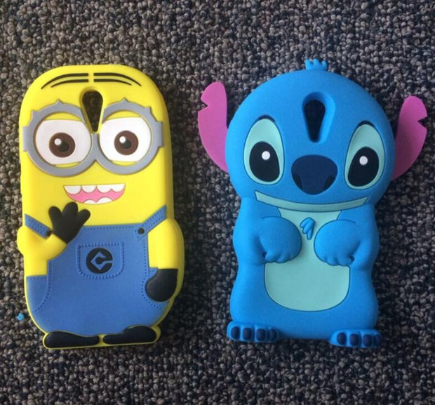 AIPUWEI For HTC Desire 820 Mini Phone Case Soft Silicone Back Cover For HTC Desire 620 620G Case 3D Cartoon Cute ANIMALS Case