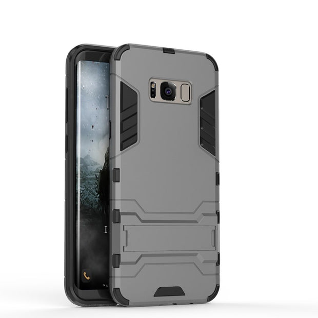AIPUWEI For Samsung Galaxy S8 G950 Case 5.8 Inch Robot Armor Hard Plastic Back Cover For Samsung Galaxy S8 Phone Bag Case SHELL