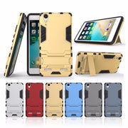 AIPUWEI Luxury Armor Robot Phone Case For Lenovo A6000 CASE Cover For Lenovo K3 K 3 A 6000 Lemon K30-T Skin Cover With Stand BAG