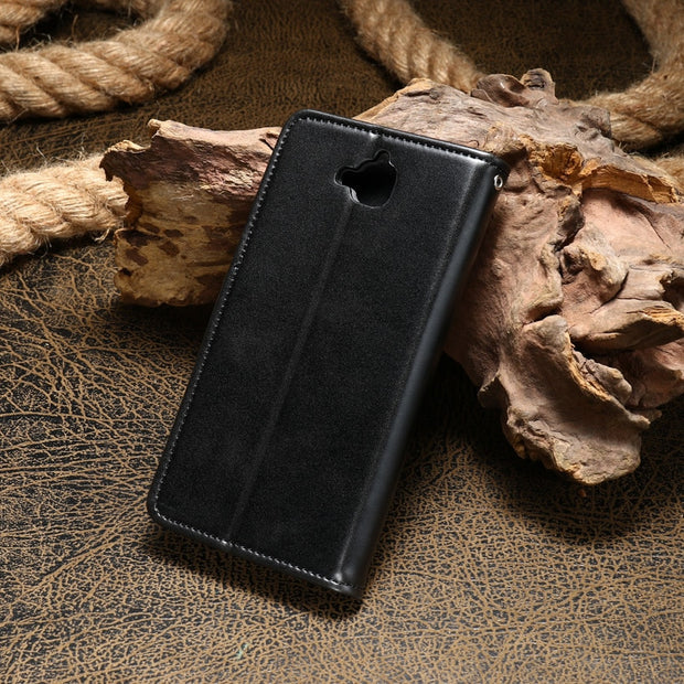 AKABEILA PU Leather Cases For Huawei Honor 4C Pro TIT-AL00 Y6 Pro