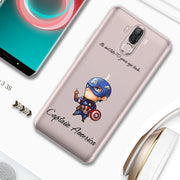 ASTUBIA Case For Ulefone Power 3S Case High Quality TPU Soft Clear TPU Spiderman Iron Man Cover For Ulefone Power 3S 3 Shell